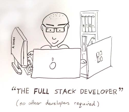 The Myth of the Full-stack Developer